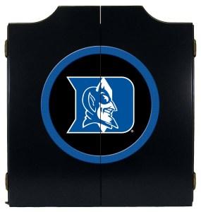Duke Blue Devils College Logo Dart Cabinet | moneymachines.com