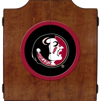 Florida State Seminoles College Logo Dart Cabinet | moneymachines.com