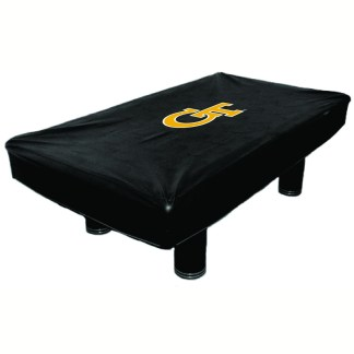 Georgia Tech Yellow Jackets Billiard Table Cover | moneymachines.com