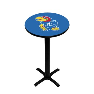 Kansas Jayhawks College Logo Pub Table | moneymachines.com