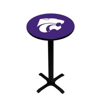 Kansas State Wildcats College Logo Pub Table | moneymachines.com