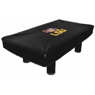 LSU Tigers Billiard Table Cover | moneymachines.com