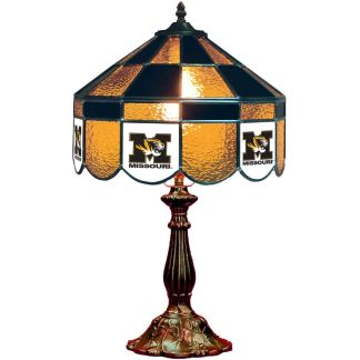 Mizzou Tigers Stained Glass Table Lamp | moneymachines.com
