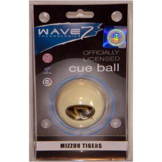 Mizzou Tigers Billiard Cue Ball   moneymachines.com