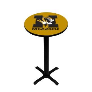 Mizzou Tigers College Logo Pub Table | moneymachines.com