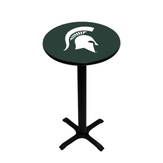 Michigan State Spartans College Logo Pub Table | moneymachines.com