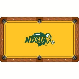 North Dakota State Bisons Billiard Table Cloth | moneymachines.com