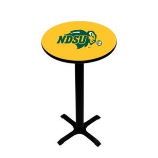 North Dakota State Bison College Logo Pub Table | moneymachines.com