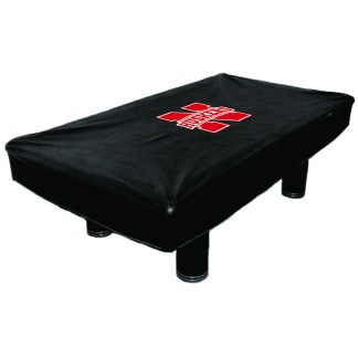 Nebraska Cornhuskers Billiard Table Cover | moneymachines.com