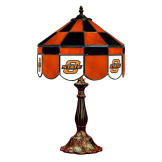 Oklahoma State Cowboys Stained Glass Table Lamp | moneymachines.com