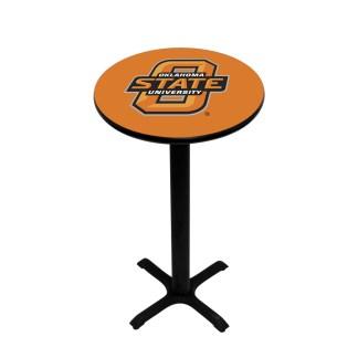 Oklahoma State Cowboys College Logo Pub Table   moneymachines.com