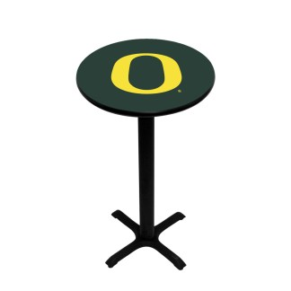 Oregon Ducks College Logo Pub Table | moneymachines.com