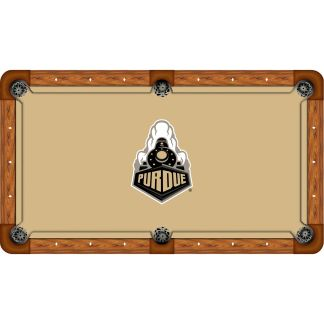 Purdue Boilermakers Billiard Table Cloth   moneymachines.com
