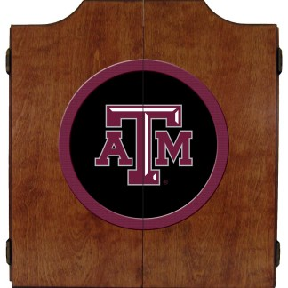 Texas A&M Aggies College Logo Dart Cabinet | moneymachines.com