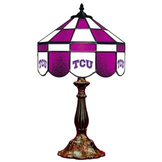 TCU Horned Frogs Stained Glass Table Lamp | moneymachines.com