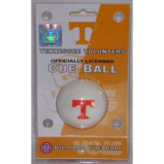 Tennessee Volunteers Billiard Cue Ball | moneymachines.com