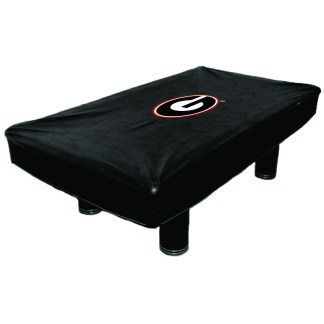Georgia Bulldogs Billiard Table Cover | moneymachines.com