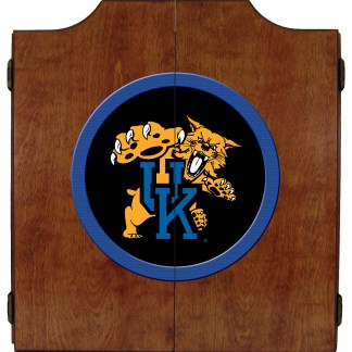 Kentucky Wildcats College Logo Dart Cabinet | moneymachines.com