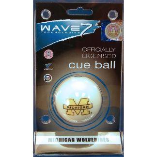 Michigan Wolverines Billiard Cue Ball   moneymachines.com