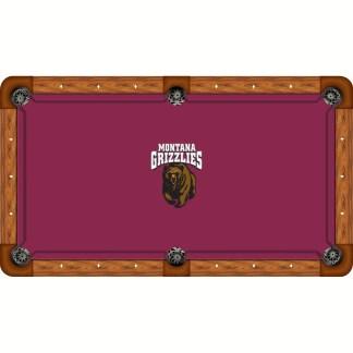 Montana Grizzlies Billiard Table Cloth | moneymachines.com