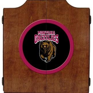 Montana Grizzlies College Logo Dart Cabinet | moneymachines.com