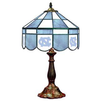 North Carolina Tar Heels Stained Glass Table Lamp | moneymachines.com