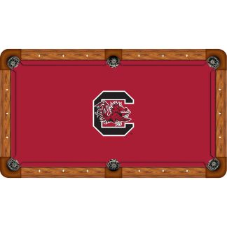 South Carolina Gamecocks Billiard Table Cloth | moneymachines.com