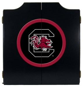South Carolina Gamecocks College Logo Dart Cabinet | moneymachines.com