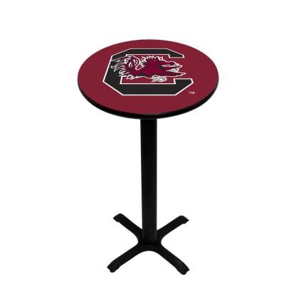 South Carolina Gamecocks College Logo Pub Table   moneymachines.com