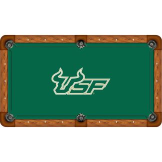 South Florida Bulls Billiard Table Cloth | moneymachines.com