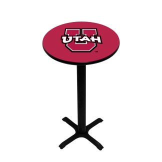 Utah Utes College Logo Pub Table | moneymachines.com