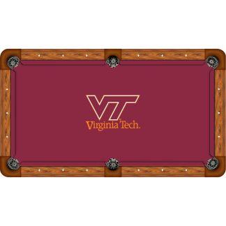 Virginia Tech Hokies Billiard Table Cloth | moneymachines.com
