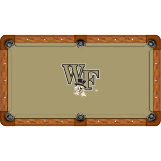 Wake Forest Demon Deacons Billiard Table Cloth | moneymachines.com