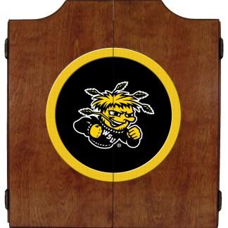 Wichita State Shockers College Logo Dart Cabinet | moneymachines.com