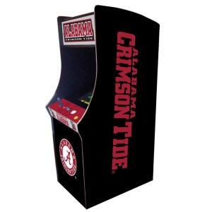 Alabama Crimson Tide Arcade Multi-Game Machine | moneymachines.com