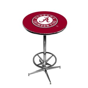 Alabama Crimson Tide College Logo Pub Table | moneymachines.com