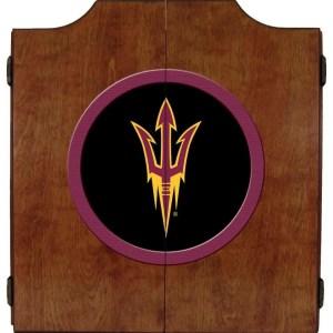 Arizona State Sun Devils College Logo Dart Cabinet | moneymachines.com