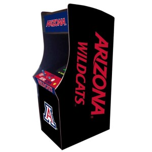 Arizona Wildcats Arcade Multi-Game Machine | moneymachines.com