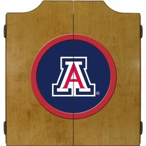 Arizona Wildcats College Logo Dart Cabinet | moneymachines.com
