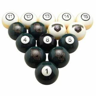 Baylor Bears Billiard Ball Set | moneymachines.com