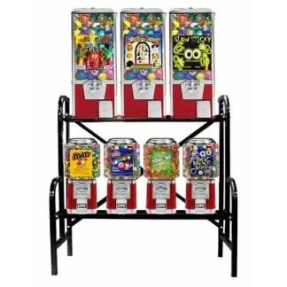 Big Pro 7 Unit Combo Vending Machine Rack Stand   moneymachines.com