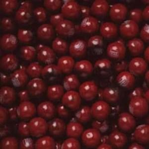 Black Cherry Gumballs - Case Of 1 Inch 850 Count | moneymachines.com