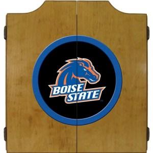 Boise State Broncos College Logo Dart Cabinet | moneymachines.com