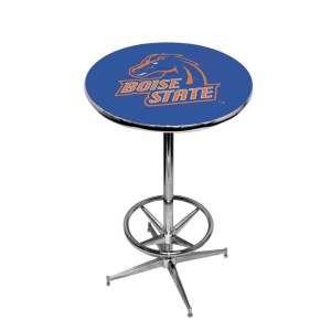 Boise State Broncos College Logo Pub Table | moneymachines.com