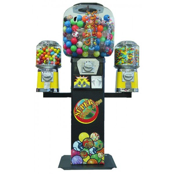 Super Bounce A Roo Vending Machine With Wings   moneymachines.com