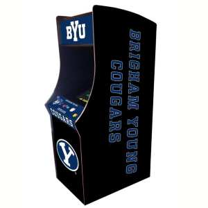 Brigham Young Cougars Arcade Multi-Game Machine | moneymachines.com