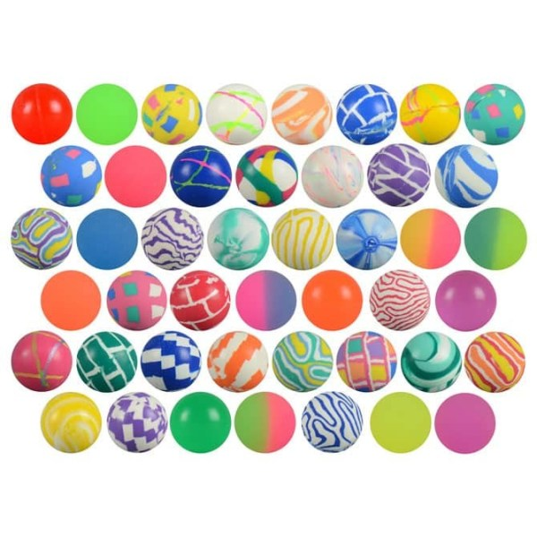Bulk Mixed Superball Vending Supplies | moneymachines.com