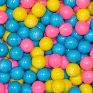 Cotton Candy Gumballs - 850 Count Case | moneymachines.com