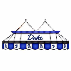 "Duke Blue Devils MVP 40"" Tiffany Stained Glass Pool Table Lamp | moneymachines.com"