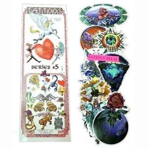 Flat Bulk Vending Tattoos - Box Of 300 | moneymachines.com